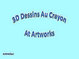 diaporama pps 3D dessins au crayon at artworks