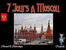 diaporama pps 7 jours à Moscou en 2013