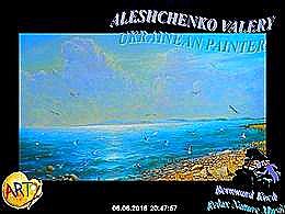 diaporama pps Aleshchenko Valery ukranian painter