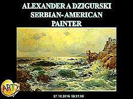 diaporama pps Alexander a Dzigurski serbian american painter