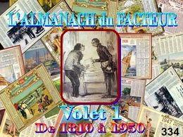diaporama pps Almanachs du facteur 1818-1950