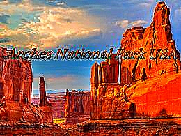 diaporama pps Arches National Park USA