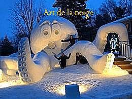 diaporama pps Art de la neige