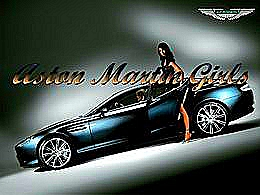diaporama pps Aston Martin Girls