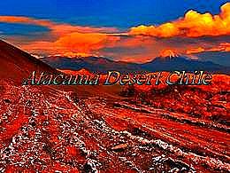diaporama pps Atacama desert Chile