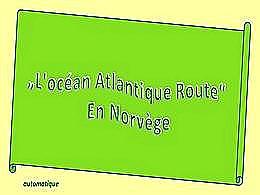 diaporama pps Atlantique route