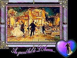 diaporama pps Au grand bal de l'amour