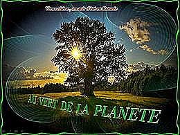 diaporama pps Au vert de la planète