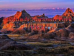 diaporama pps Badlands national park USA