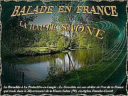 diaporama pps Balade en France – La Haute-Saône