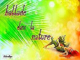 diaporama pps Ballade dans la nature