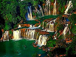 diaporama pps Ban Gioc waterfall China
