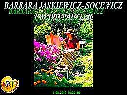 diaporama pps Barbara Jaśkiewicz-Socewicz polish painter