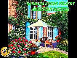diaporama pps Barbara Rosbe Felisky american painter