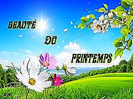 diaporama pps Beauté du printemps