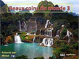 diaporama pps Beaux coins du monde 3
