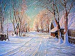 diaporama pps Beaux paysages du peintre Valter Moras