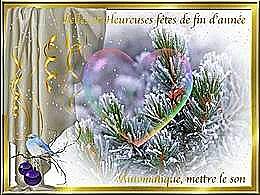 diaporama pps Belles et heureuses fêtes de fin d'année