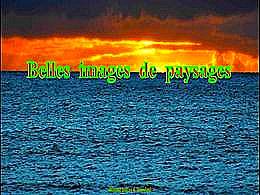 diaporama pps Belles images de paysages