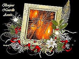 diaporama pps Bonjour nouvelle année