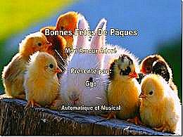 diaporama pps Bonne fête de Pâques mon amour adoré