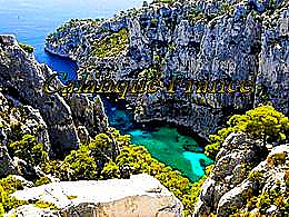diaporama pps Calanques France