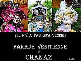 diaporama pps Parade vénitienne à Chanaz
