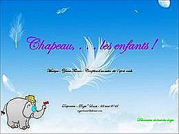 diaporama pps Châpeau les enfants !