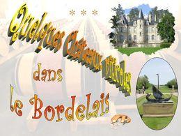 diaporama pps Châteaux viticoles bordelais