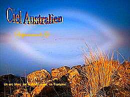 diaporama pps Ciels australiens