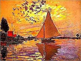 diaporama pps Claude Monet