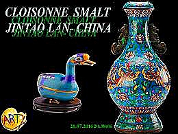 diaporama pps Cloisonne Smalt Jintao Lan China