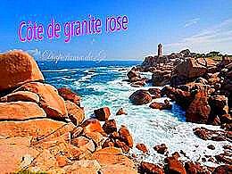 diaporama pps Côte de granit rose