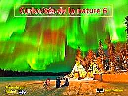 diaporama pps Curiosités de la nature 6