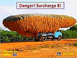 diaporama pps Danger surcharge 8