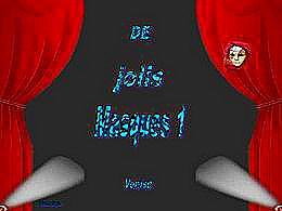 diaporama pps De jolis masques I