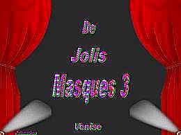diaporama pps De jolis masques III