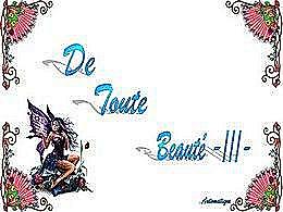 diaporama pps De toute beauté III