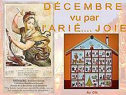 diaporama pps Décembre vu par l'Ariejoie
