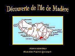 diaporama pps Découverte de l'île de Madère