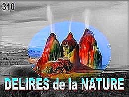 diaporama pps Délires de la nature