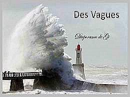 diaporama pps Des vagues
