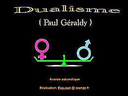 diaporama pps Dualisme – Paul Géraldy