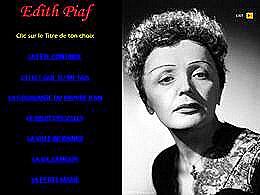 diaporama pps Édith Piaf IX