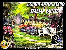 diaporama pps Egidio Antonaccio 1954 italian painter