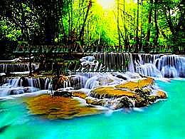 diaporama pps Erawan national park Thailand