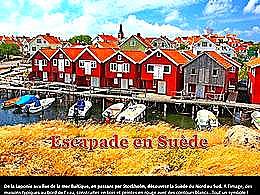 diaporama pps Escapade en Suède