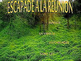 diaporama pps Escapades à la Réunion