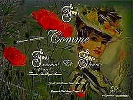 diaporama pps F comme femmes et fleurs