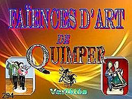 diaporama pps Faïences d'art de Quimper